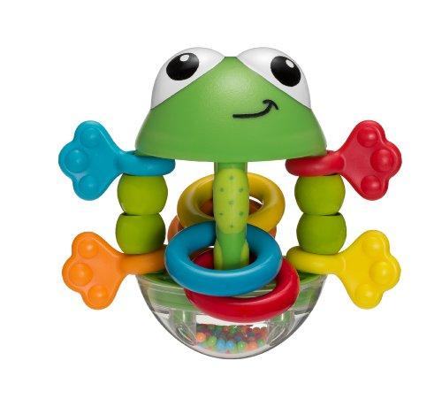 Infantino Flip Flop Frog Rattle (Rattle Pal)