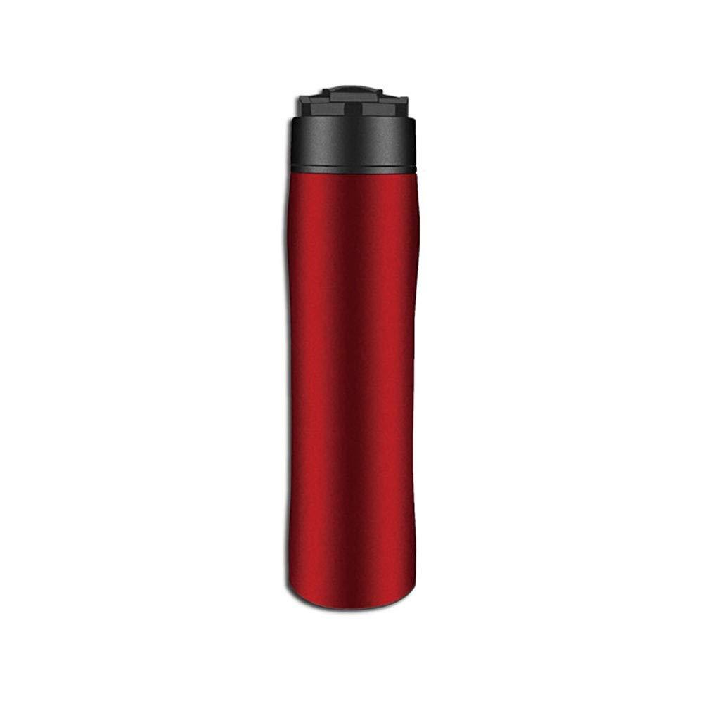 Acquisto FYHKF Caffettiere a pistone Caffettiera a Pressione in Acciaio Inox Portatile in Acciaio Inox a Mano Pugno all'aperto Teiera Bottiglia d'Acqua 350ml Prezzi offerta