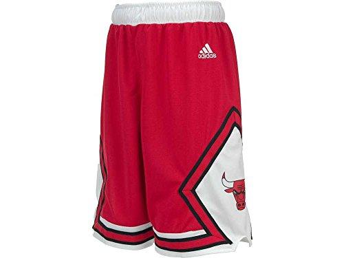 NBA Chicago Bulls Youth Boys 8-20 Replica Road Shorts, Medium (10/12), Red (Adidas Samba Super compare prices)