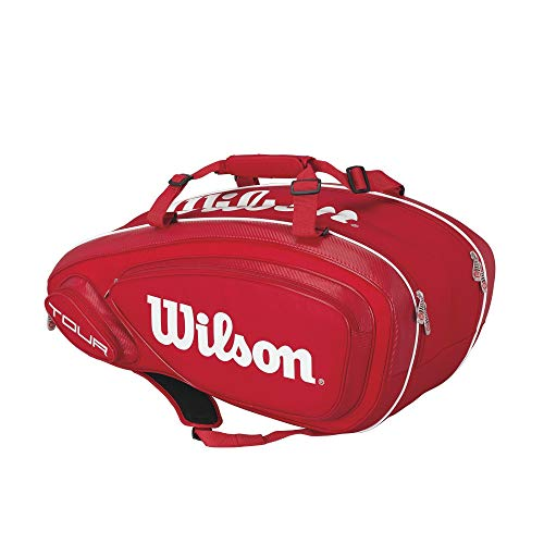 (Wilson Tour Red Collection Tour V 9 Pack)