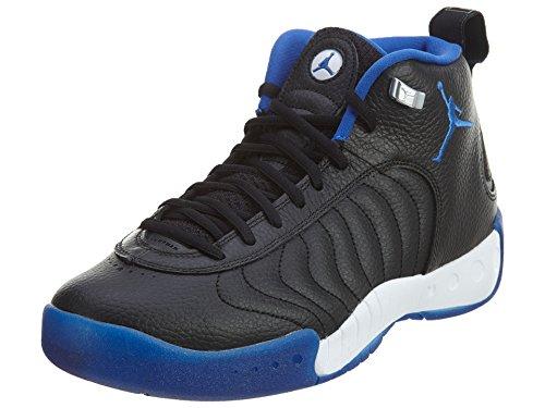 Jordan Nike Männer Jumpman Pro Basketballschuh Schwarz / Varsity Royal-Metallic Silber