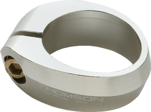 Thomson Bicycle Seatpost Clamp (28.6mm, Silver)