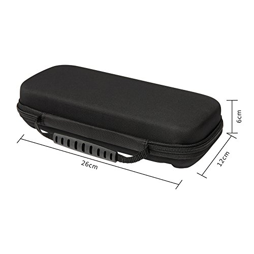 Soyan Travel Carrying Case for Nintendo Switch, Built-in 10 Game Card Holders (Upgrade Version)