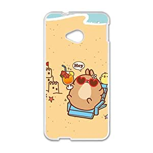 hey cute cartoon personalized high quality cell phone case for HTC M7 by mcsharks