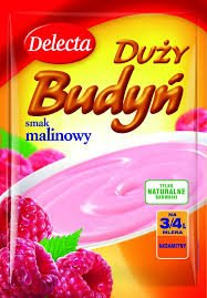 Delecta Raspberry Pudding Mix 5-pack ()