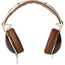 Skullcandy Aviator Headphones w/Mic3 Brown/Gold (2011 Color), One Size