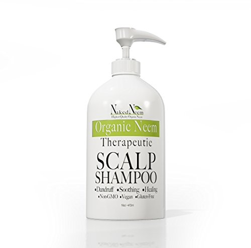 Price comparison product image Neem Scalp Shampoo (16 Ounce) - Pure Organic Neem, 3 sizes, Lowest Price