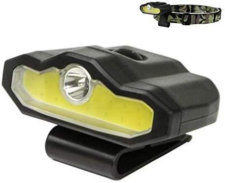 懐中電灯超明るいワークライトトーチランタンヘッドライトUSB充電式LEDキャップクリップライトヘッドライトヘッドライト懐中電灯屋外ハイキングキャンプサイクリングフィッシングヘッドランプランタン
