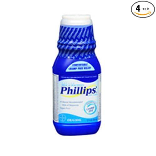 Amazon.com: Genuine Milk of Magnesia 4 oz. Bottle: Health & Personal Care