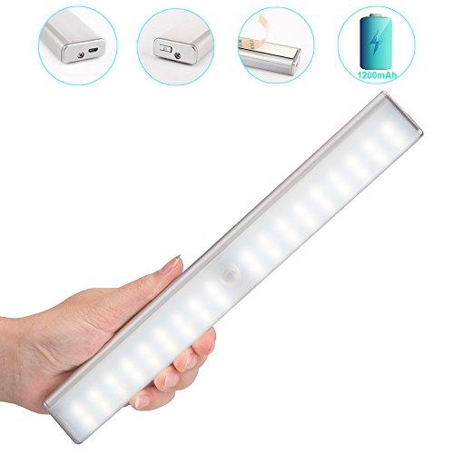 Kitchen Closet Under Cabinet Stick On 18 Led Motion Sensor: LED Motion Sensor Closet Lights,Stick On Anywhere USB