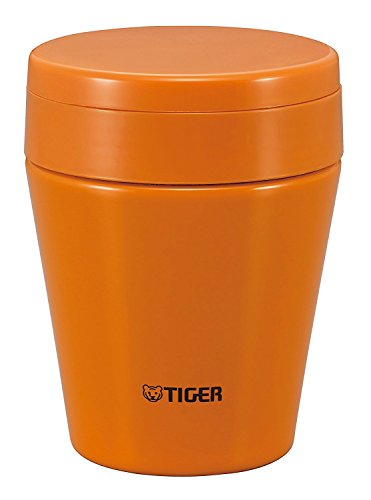 Tiger MCC-C030-DC Stainless Steel Soup Cup, 10 oz, Carrot - Soup Mug 10 Oz