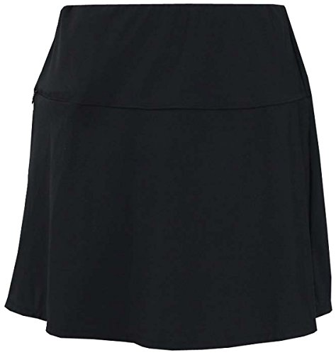 Miraclesuit Woman's Solid Fit & Flair Skirt, Black, 8