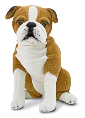 Melissa Doug English Bulldog - Plush from Melissa & Doug