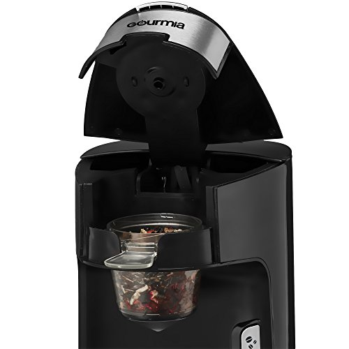 Easy One Cup Coffee Maker : Gourmia GCM3600 3 In 1 Cup K-Cup, Leaf Tea Infuser & Ground Coffee - Single Cup Coffee Maker ...