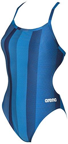 arena Blended Stripe MaxLife Challenge Back Female Navy 30 Blended Stripe