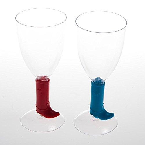 Fun Express Cowboy Boot 8 oz. Wine Glass ()