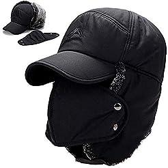 Winter Trapper Hats for Men Warm Trooper...