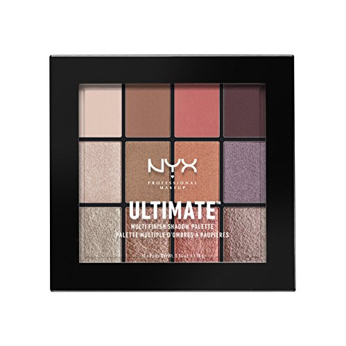 NYX PROFESSIONAL MAKEUP Ultimate Multi-Finish Shadow Palette, Sugar High, 0.48 Ounce -