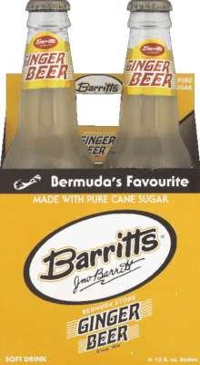 Ginger Beer Bermuda - Barritts Soda Ginger Beer, 48 fl oz