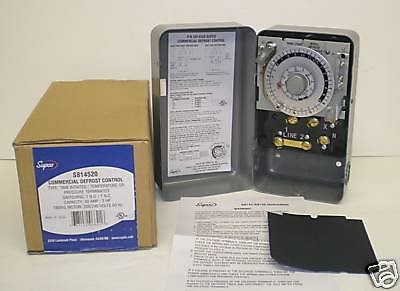 Supco S8145-20 Complete Commercial Defrost Timer (Replaces Paragon 8145-20)