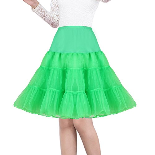 - Shimaly Women's 50s Vintage Rockabilly Petticoat 26