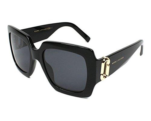 Sunglasses Marc Jacobs Marc 179 /S 0807 Black / IR gray blue - Sunglasses Jacobs Marc Buy