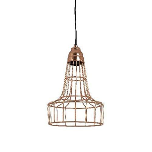 Shiny Copper Pendant Light in US - 4