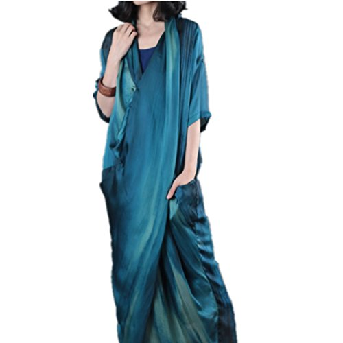Chiffon Silk Prom Dress - 3