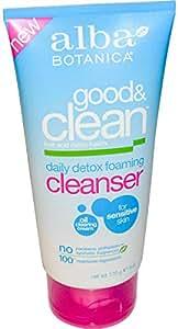 Alba Botanica Good & Clean Daily Detox Foaming Cleanser 6 oz (170 g)