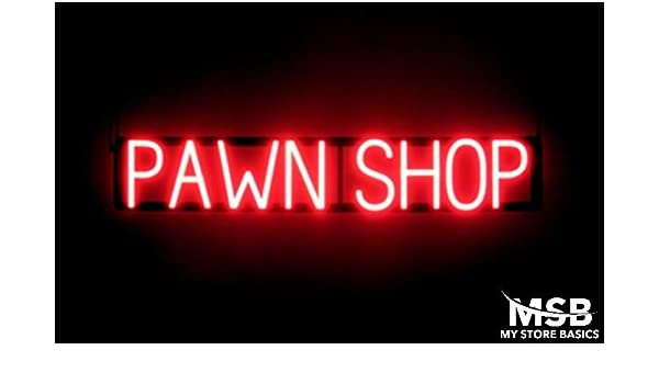 6.5 x 36in Extensions Neon Look LED Technology Animated Store Window Sign