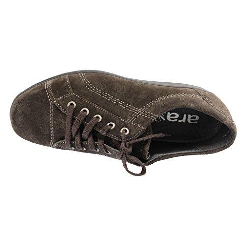 De Mujer Zapatos Cordones Ara Marrón Para Ante q54U00wC