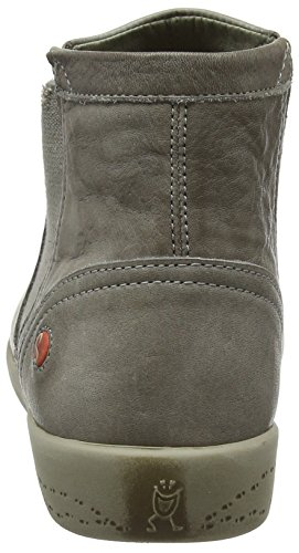 002 Mujer Taupe Beige Ici486sof Chelsea Softinos Botas para qapx7R