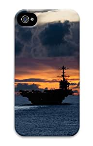iPhone 4s Case & Cover - Aircraft Carrier Us Cool PC Hard Case Cover for iPhone 4 and iPhone 4s