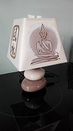 De À Bouddha Lampe Chevet Ou AsiatiqueLuminaires Poser 3l1cTFJ5uK