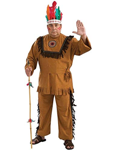 Rubie's Costume Co Rubiesnative American Indian Warrior Adult ()