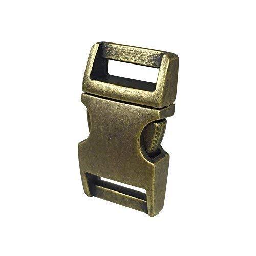 - DGQ 5/8-Inch Bronze Color Metal Side Release Buckles For Paracord Bracelets (Pack of 10pcs)
