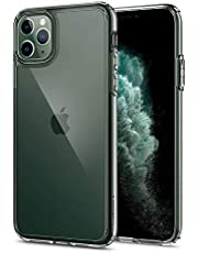 Spigen [Ultra Hybrid] iPhone 11 Pro Max Case Cover with Shockproof Edge Bumper Designed for iPhone 11 Pro Max (2019) - Crystal Clear