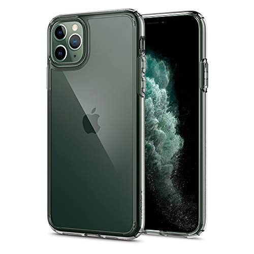 Spigen Ultra Hybrid Designed for iPhone 11 Pro Max Case (2019) – Crystal Clear