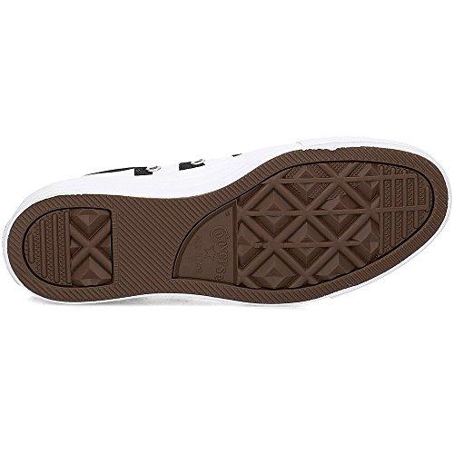 Converse Unisex-adulto 159.618 Chuck Taylor All Star Sneaker, Nero / Bianco Multi-color (nero / Bianco / C159618 Bianco)