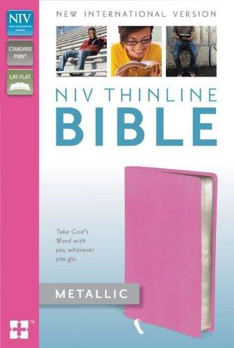 Metallic Leather Calfskin (NIV Thinline Bible Metallic)