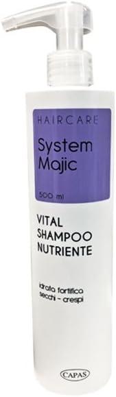 Vital - Champú nutritivo 500 ml para cabello seco y ...
