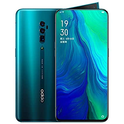 Original Oppo Reno 10x Zoom 6G+128G Mobile Phone Snapdragon 855 Android 9  Octa Core 48MP Cam OIS NFC 6 6
