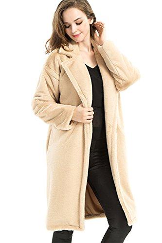 De manga larga abierta frontal Casual chaqueta de las mujeres