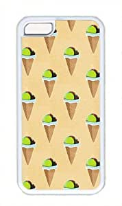 LJF phone case Ice Cream Pattern Theme iphone 4/4s Case