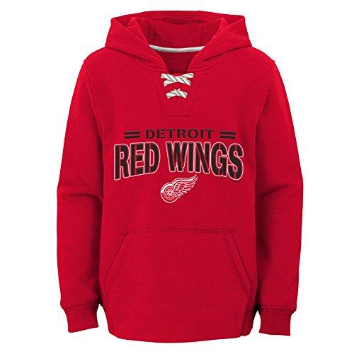 it Wings Youth Boys Standard Issue Fleece Hoodie, Medium(10-12), Red ()