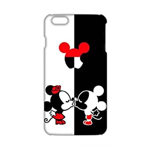 Angl 3D Case Cover Cartoon Mouse Kiss Phone Case for iPhone6 plus