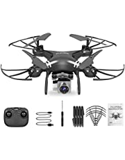 Four-Axis Aerial Drone Remote Control Aircraft High Definition Photography Black 4K Camera