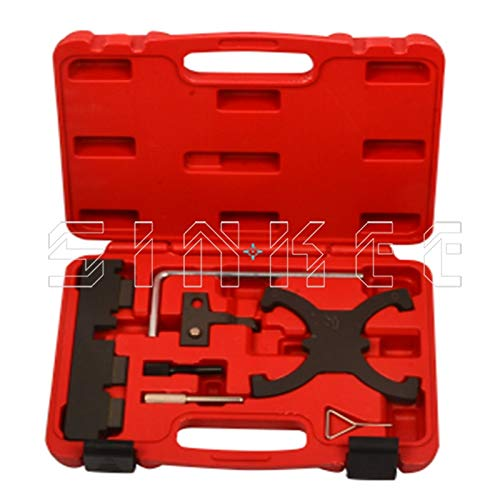 SINKEE Engine Timing Tool Kit for Ford 1.6 TI-VCT 1.6 Duratec EcoBoost C-MAX Fiesta Focus SK1514 HITSAN INCORPORATION ATM-9962