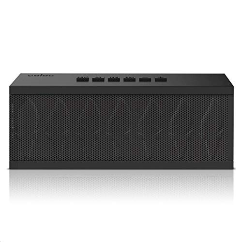 AELEC Portable Bluetooth Speakers with Superior Stereo Sound, More Bass, 10 Watts, IPX6 Water-Resistant, 15-Hour Playtime, Best Wireless Speaker for Home, Outdoors, Travel