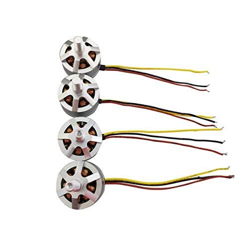 ETbotu Motore Brushless 4 PZ per UDIRC U37 D60 Aerei a 4 assi senza spazzole
